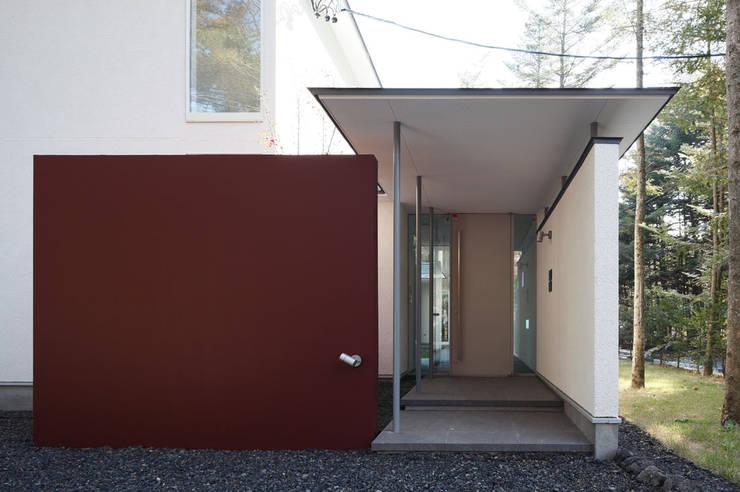 軽井沢の家2: 有限会社 オープンハウスが手掛けたです。,