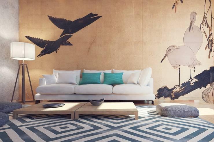 Projekty,  Salon zaprojektowane przez Архитектурная компания МАСТЕР