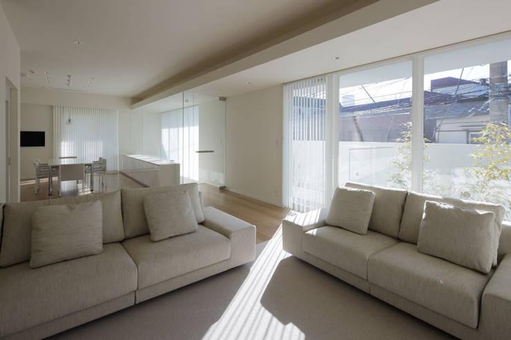 中野の家: 有限会社 オープンハウスが手掛けたです。