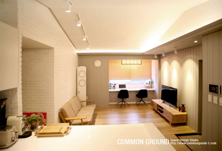 scandinavian Bedroom by 커먼그라운드