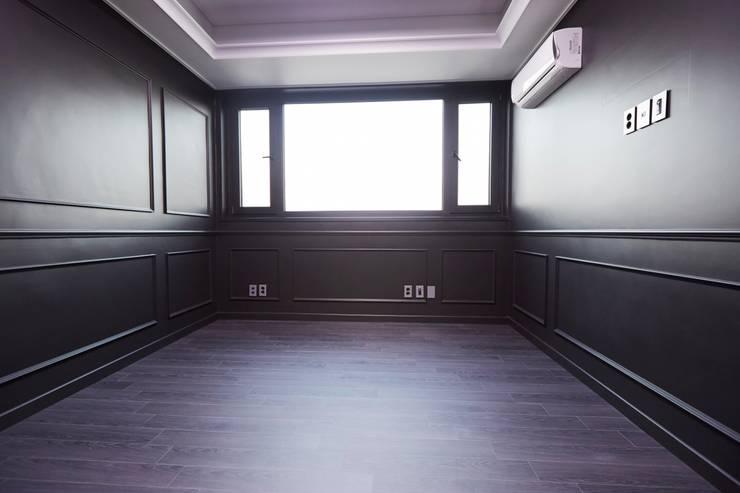 오류동 예성 라온펠리스 리모델링 (Before & After): DESIGNSTUDIO LIM_디자인스튜디오 림의  침실