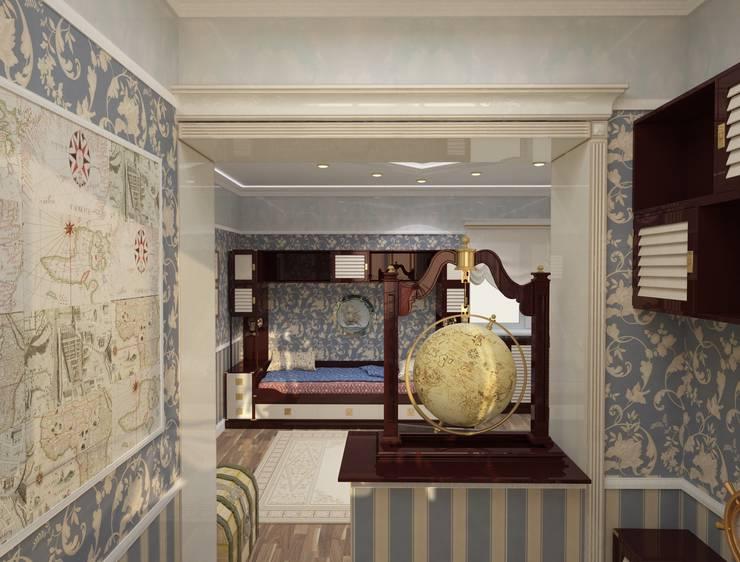 Детская комната для мальчика: Детские комнаты в . Автор – DONJON