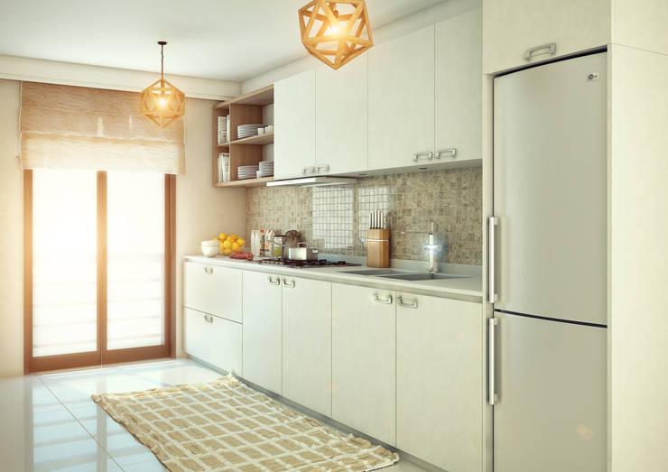Erhan 3D Works – Mutfak:  tarz İç Dekorasyon
