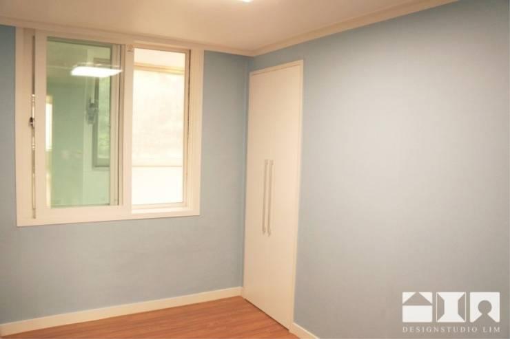 목동우성 아파트 리모델링 : DESIGNSTUDIO LIM_디자인스튜디오 림의  침실