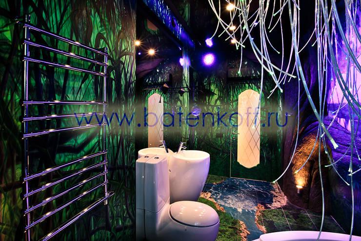حمام تنفيذ Дизайн студия 'Дизайнер интерьера № 1'