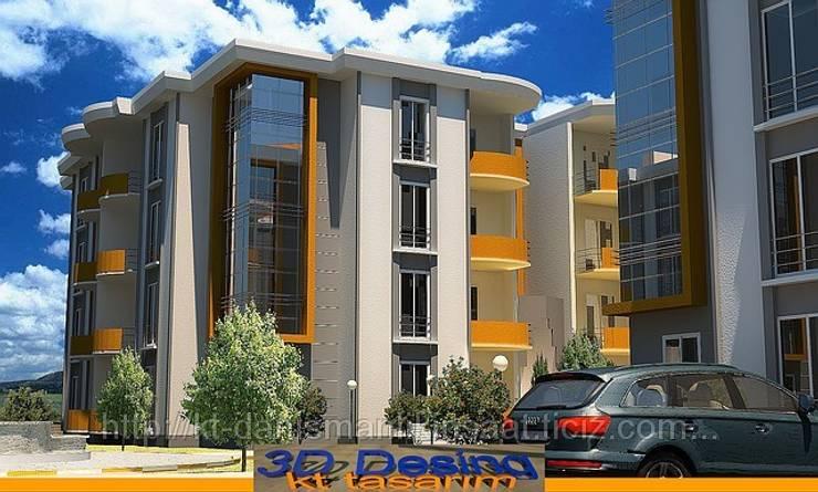 kt danışmanlık tasarım dekorasyon – kt evleri:  tarz Evler