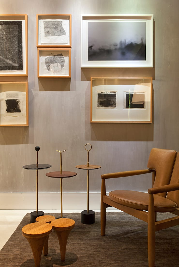 Home Office Casa Cor: Escritórios  por daniela andrade arquitetura,