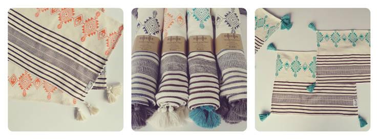 Textiles: Hogar de estilo  por Hagakure Hogar
