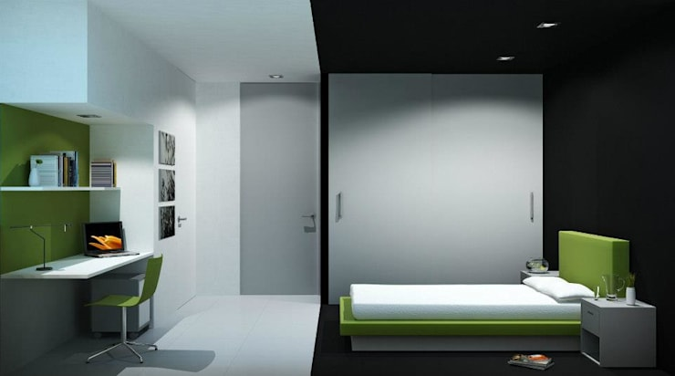 PININFARINA: Recámaras de estilo  por minimum arquitectura