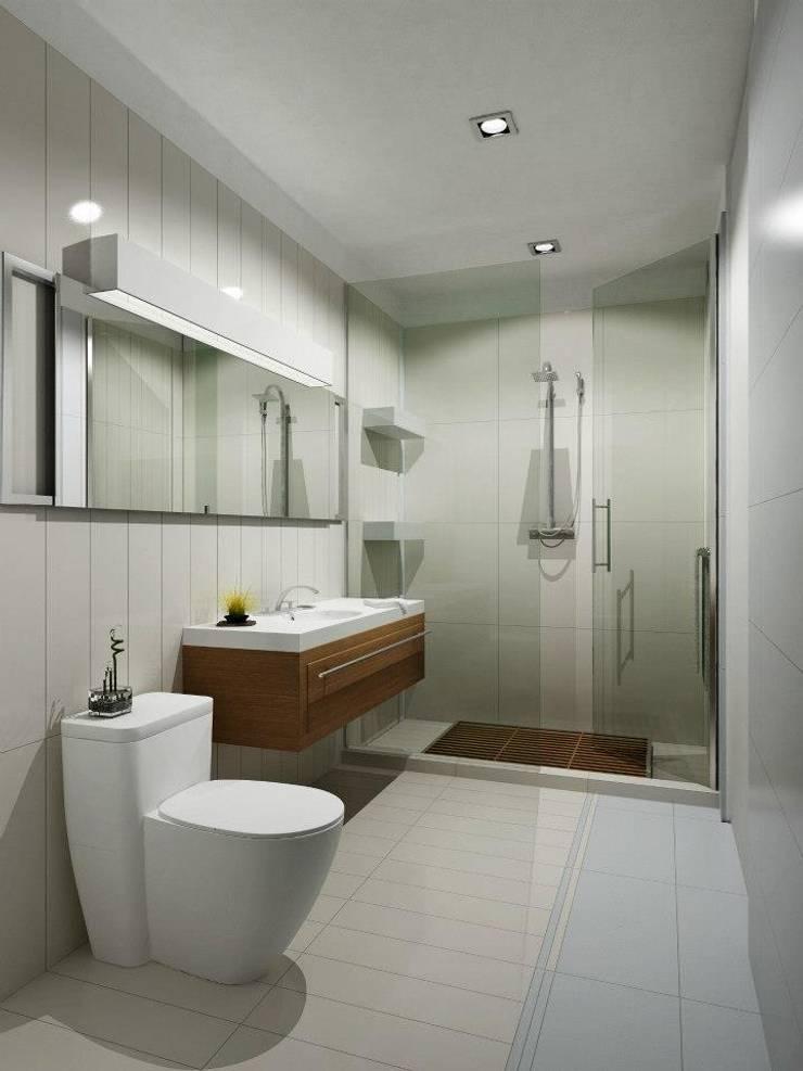 PININFARINA: Baños de estilo  por minimum arquitectura