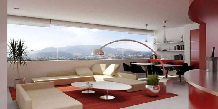 PININFARINA: Salas de estilo  por minimum arquitectura