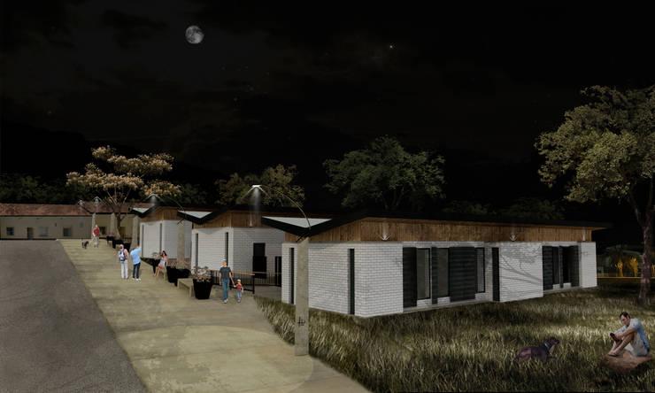 PARQUE EDUCATIVO SOPETRAN – ANTIOQUIA – COLOMBIA: Escuelas de estilo  por TPR ARQUITECTOS, Moderno