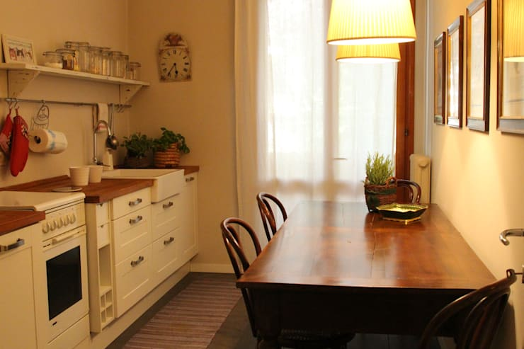 مطبخ تنفيذ cristina mecatti interior design