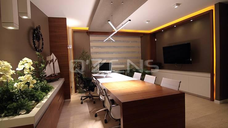 QZENS MOBİLYA – Aksoy Ofisi:  tarz Ofis Alanları