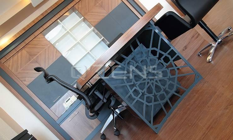 QZENS MOBİLYA – Alfan:  tarz Ofis Alanları