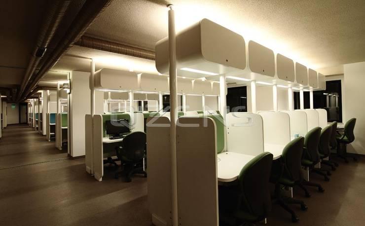 Office buildings by QZENS MOBİLYA, Modern