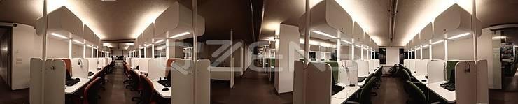 Gedung perkantoran oleh QZENS MOBİLYA, Modern