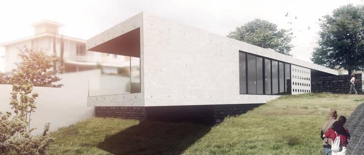 Residência Boa Vista: Casas modernas por Commune Arquitetura