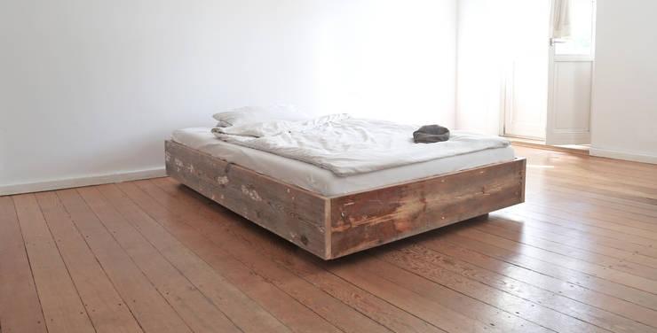 industrial Bedroom by Die MÖBELHAUEREI
