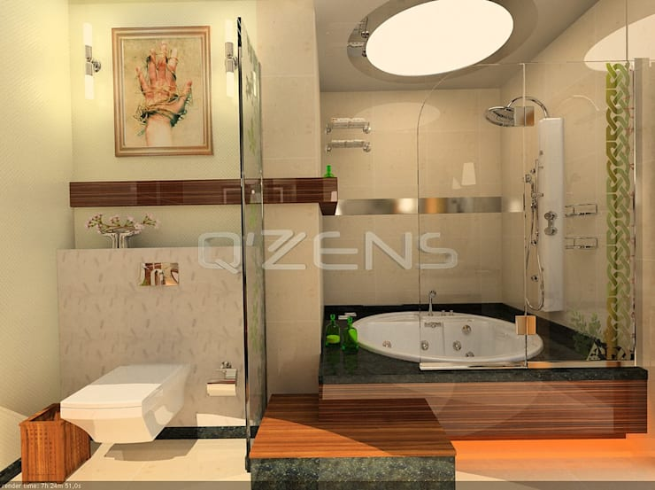 QZENS MOBİLYA – Loft Konut Tasarımı:  tarz