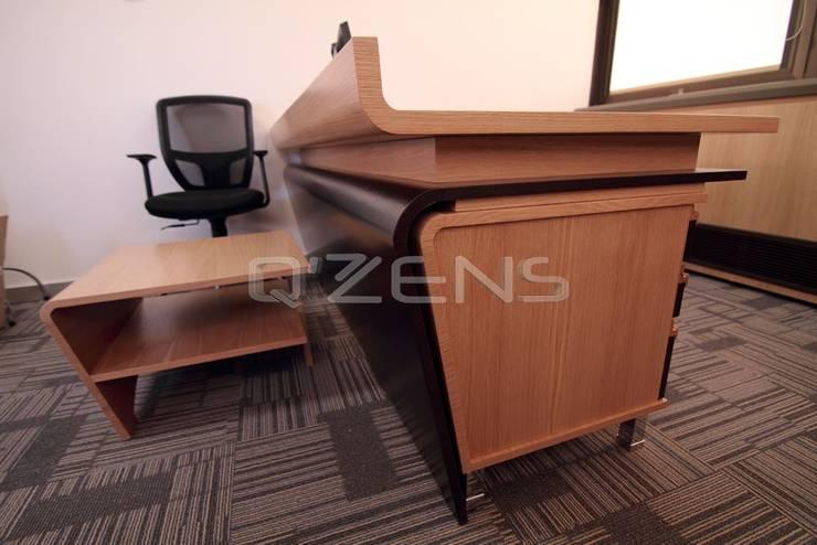 QZENS MOBİLYA – Merkez Bankası Ankara:  tarz Ofis Alanları