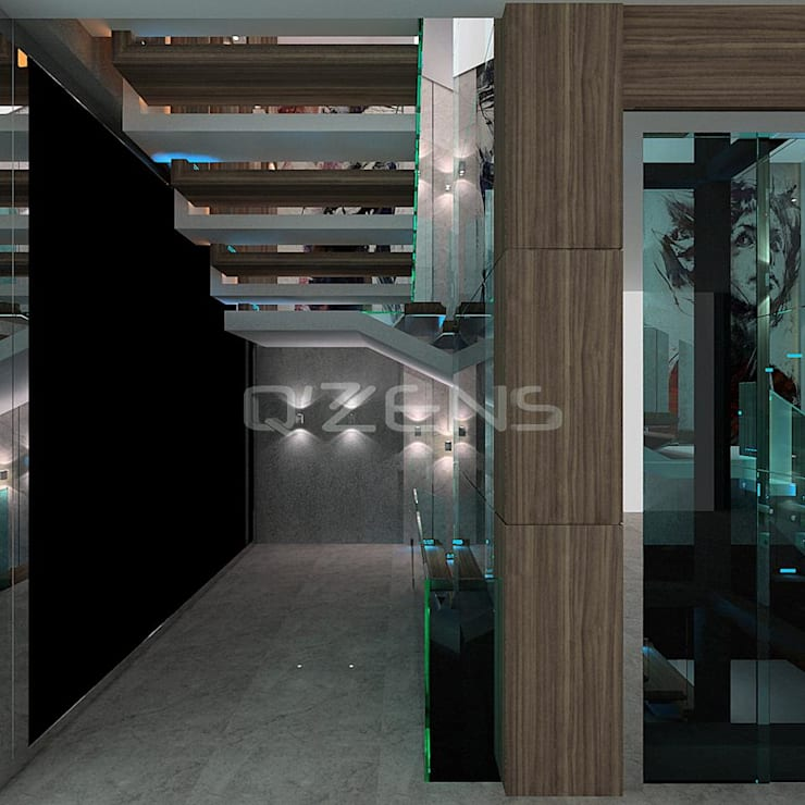 QZENS MOBİLYA – Hitit İnşaat OSB Fabrika İdari Ofisleri:  tarz
