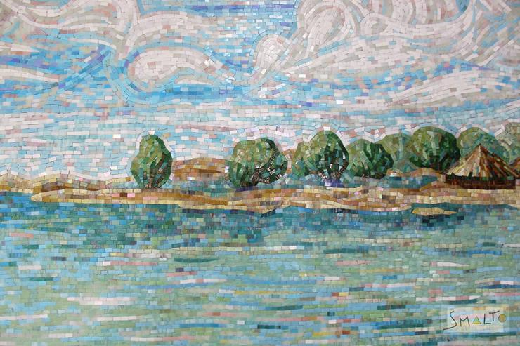 «Морской пейзаж»: Произведения искусства в . Автор – Мастерская художественной мозаики 'SMALTO'