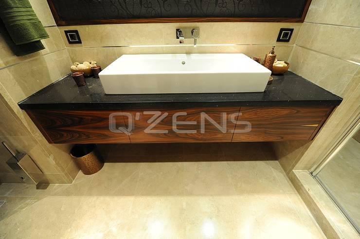 QZENS MOBİLYA – Park Yıldız Konutları :  tarz Banyo