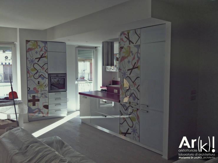 Salas / recibidores de estilo moderno por arkfattoriale