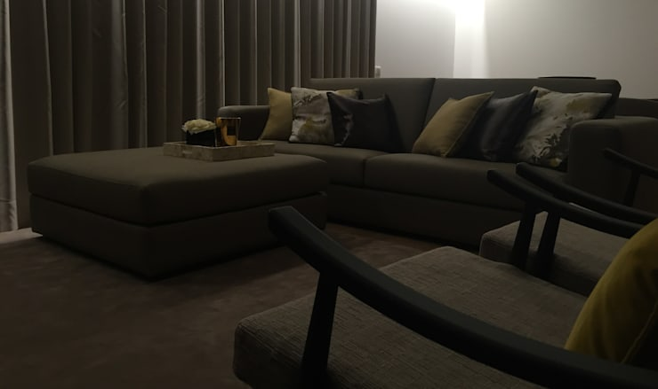 INTERIOR DESIGN: Salas de estar  por PAULA NOVAIS ARQUITECTOS E DESIGN