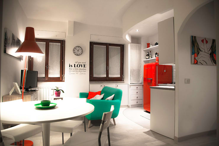 Salas de estilo  por Mostarda Design