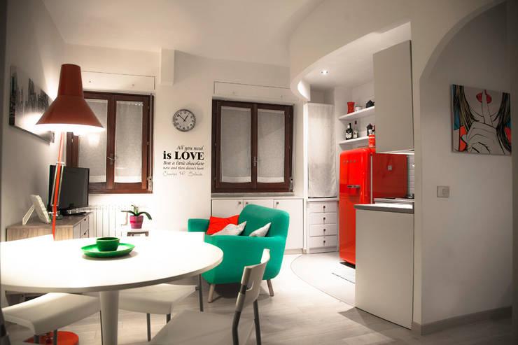 Living room by Mostarda Design