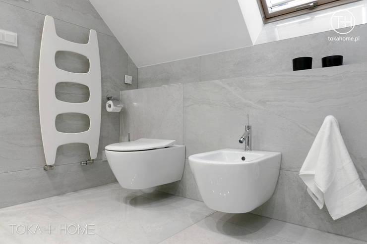 Strefa relaksu: styl , w kategorii Łazienka zaprojektowany przez TOKA + HOME