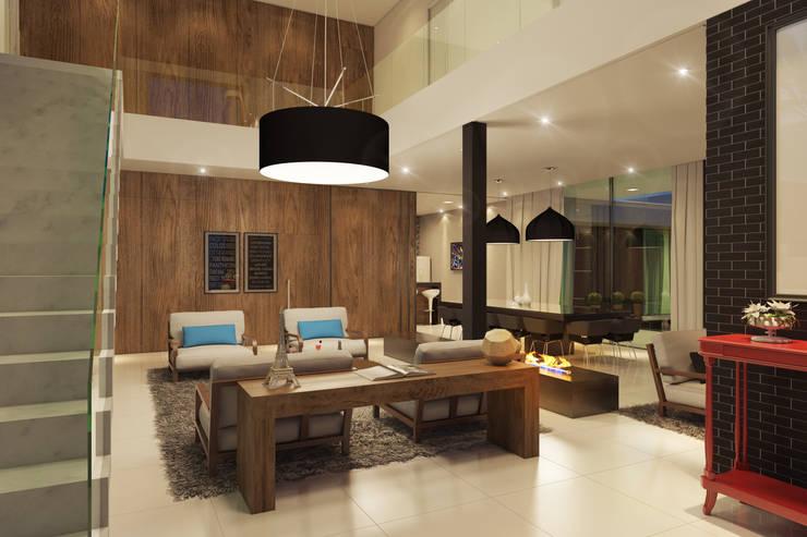 Projeto: Salas de jantar modernas por Gramaglia Arquitetura