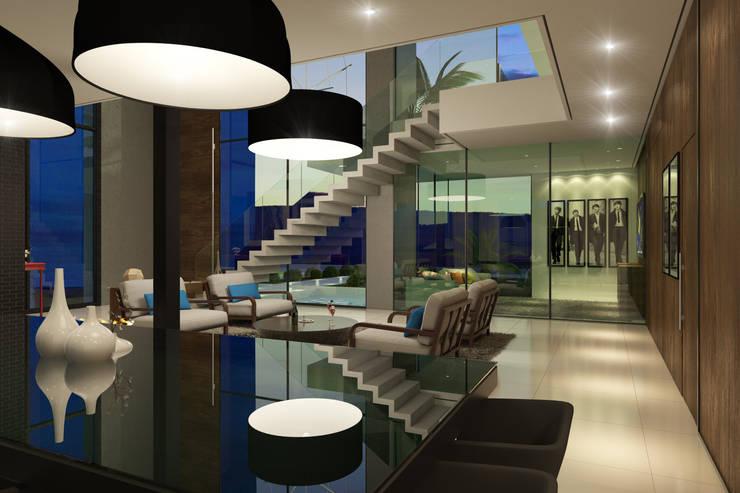 Projeto: Corredores e halls de entrada  por Gramaglia Arquitetura