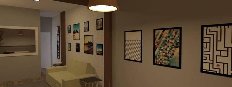 Sala CW: Salas de estar  por wsenterarquitetura