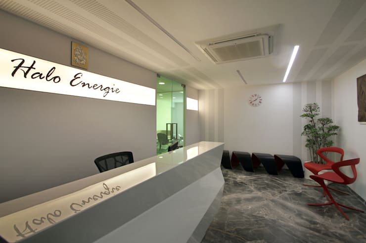 Halo Enerie Office:  Office buildings by NA ARCHITECTS