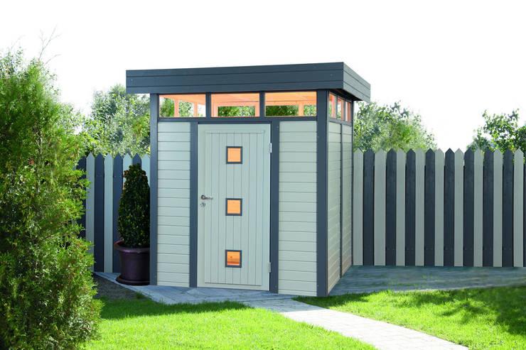 Гаражи в . Автор – Gartenhaus2000 GmbH
