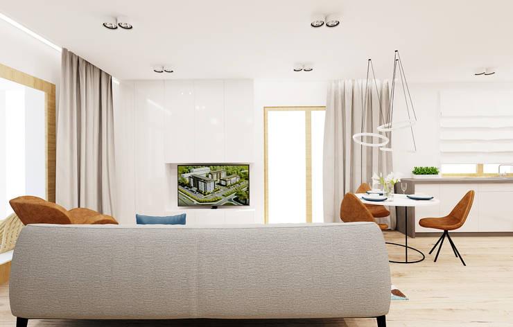 moderne Wohnzimmer von Ale design Grzegorz Grzywacz