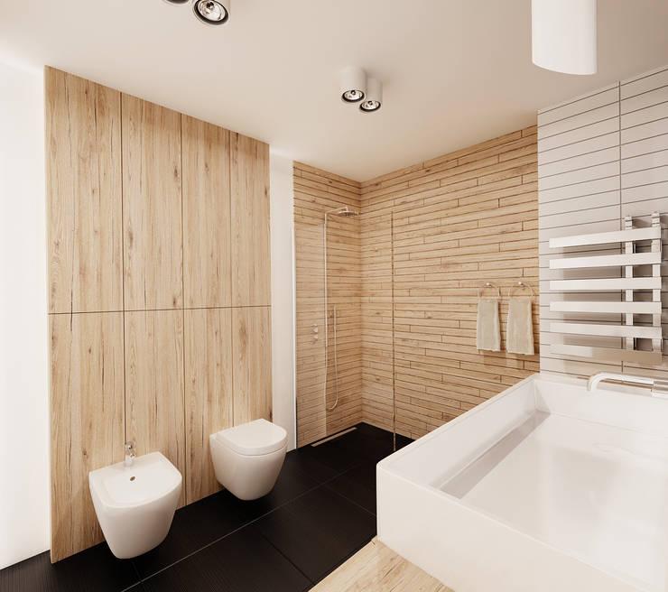modern Bathroom by Ale design Grzegorz Grzywacz