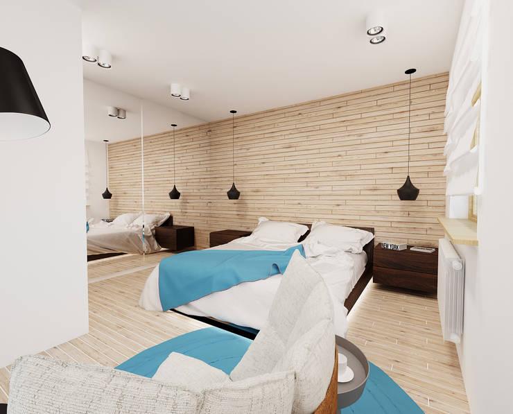 modern Bedroom by Ale design Grzegorz Grzywacz