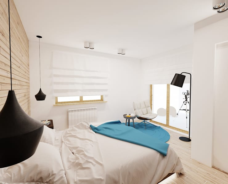Bedroom by Ale design Grzegorz Grzywacz