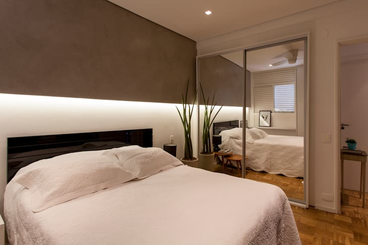 Modern style bedroom by Tria Arquitetura Modern