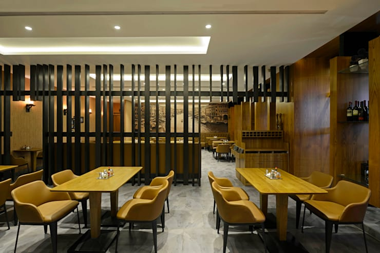 Little Italy Vashi :  Commercial Spaces by Aijaz Hakim Architect [AHA],Modern