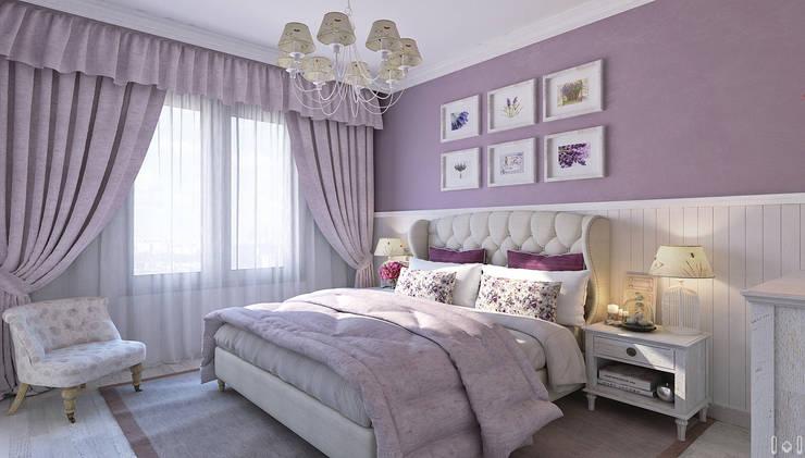 غرفة نوم تنفيذ 1+1 studio