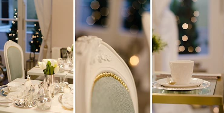 Sala de Chá: Espaços comerciais  por Catarina Batista Studio