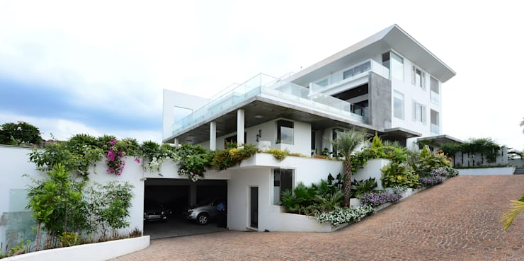Residential Bungalow:  Houses by NA ARCHITECTS