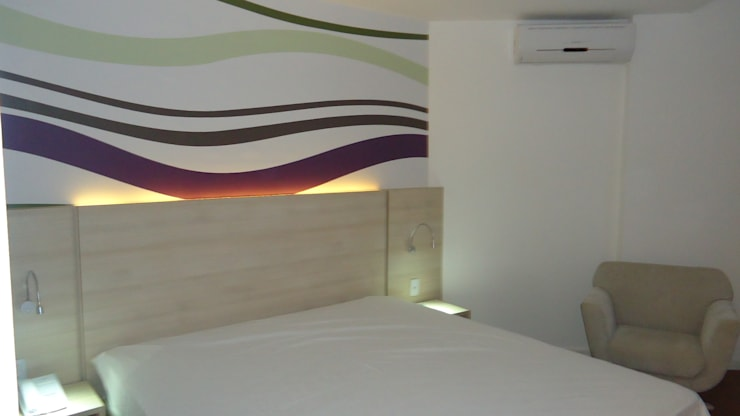 Arquitetura Hoteleira: Hotéis  por Architelier Arquitetura e Urbanismo