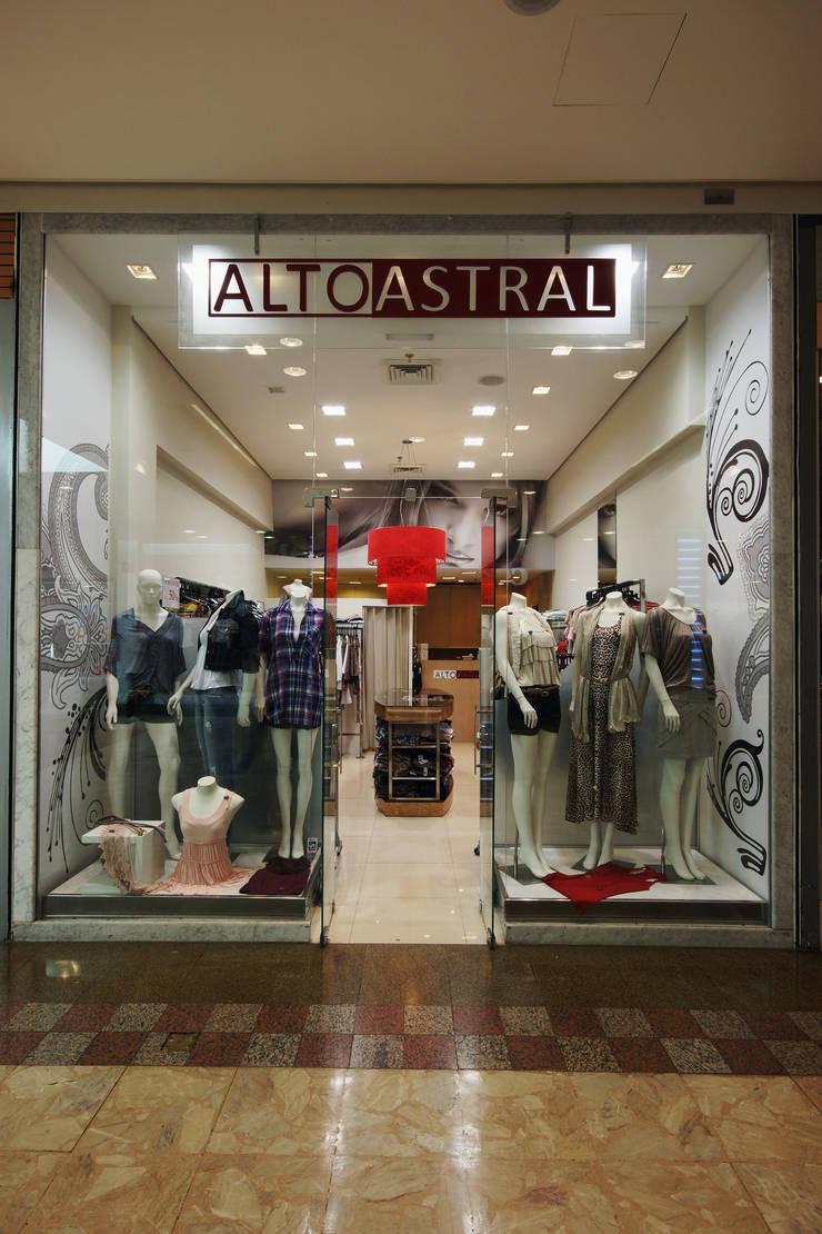 Loja Shopping : Shopping Centers  por Luciano Esteves Arquitetura e Design ,
