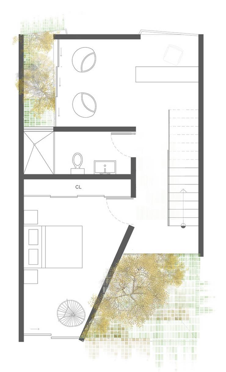Planta 3:  de estilo  por Proyecto Cafeina